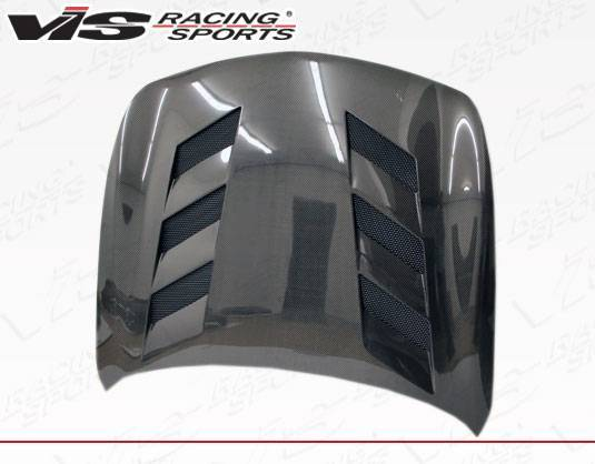 VIS Racing - Carbon Fiber Hood AMS Style for Infiniti G35 4DR 03-04