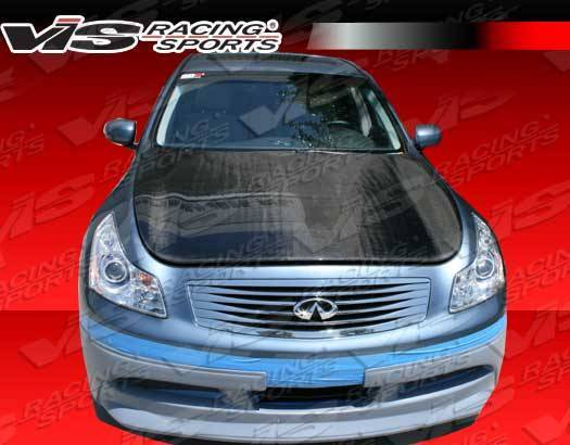VIS Racing - Carbon Fiber Hood OEM Style for Infiniti G37 4DR 09-13