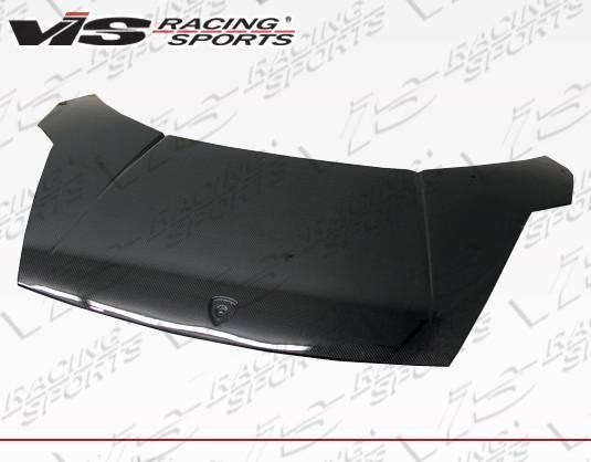 VIS Racing - Carbon Fiber Hood OEM Style for Lamborghini Gallardo 2DR 03-09