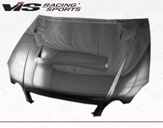 VIS Racing - Carbon Fiber Hood Alfa Style for Lexus GS300/400 4DR 98-05