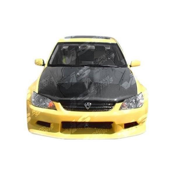 VIS Racing - Carbon Fiber Hood Invader Style for Lexus IS300 4DR 00-05