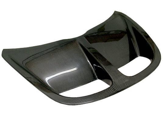 VIS Racing - Carbon Fiber Hood OEM  Style for Lotus Elise  2DR 96-99