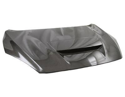 VIS Racing - Carbon Fiber Hood M Speed Style for Mazda 3 Hatchback 10-13