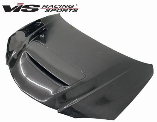 VIS Racing - Carbon Fiber Hood M Speed Style for Mazda 3 4DR 04-09