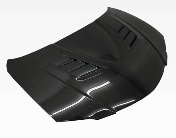 VIS Racing - Carbon Fiber Hood V Speed Style for Mazda 3 4DR 04-09