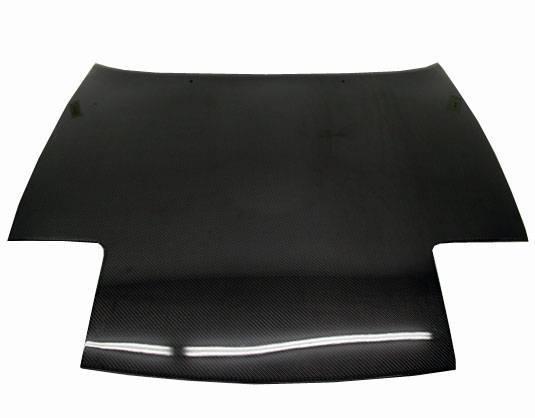 VIS Racing - Carbon Fiber Hood OEM Style for Mazda Miata 2DR 90-98