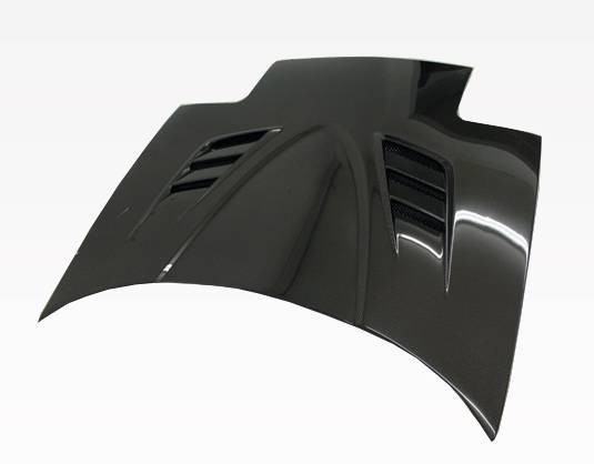 VIS Racing - Carbon Fiber Hood V Speed Style for Mazda Miata 2DR 90-98