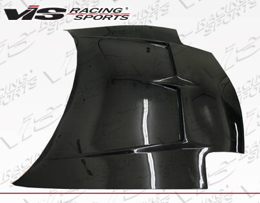VIS Racing - Carbon Fiber Hood Invader Style for Mazda RX7 2DR 93-96