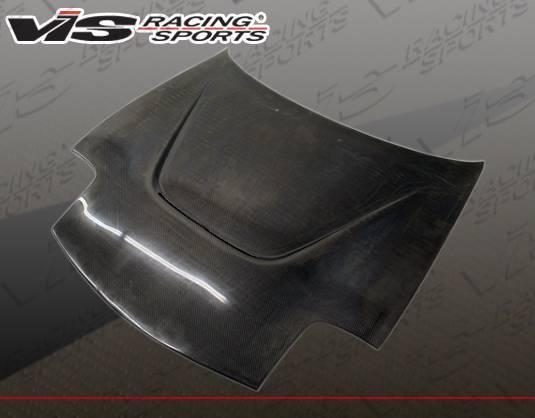 VIS Racing - Carbon Fiber Hood JS Style for Mazda RX7 2DR 93-96