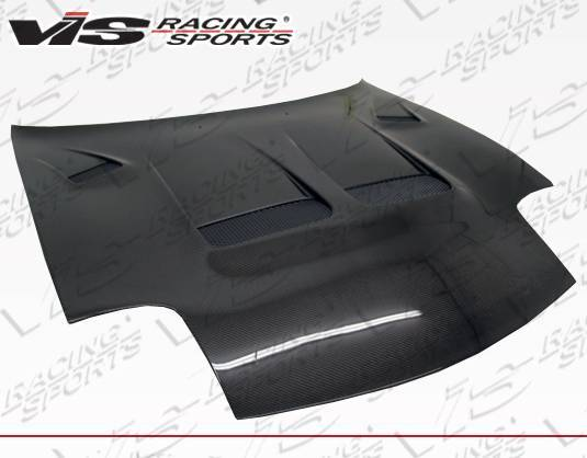 VIS Racing - Carbon Fiber Hood KS Style for Mazda RX7 2DR 93-96