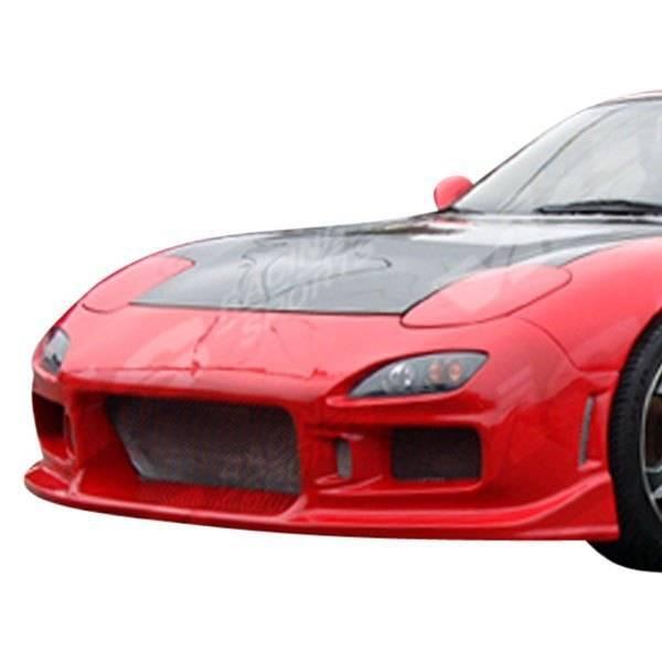 VIS Racing - Carbon Fiber Hood OEM Style for Mazda RX7 2DR 93-96