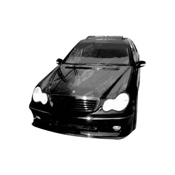VIS Racing - Carbon Fiber Hood OEM Style for Mercedes C-Class 4DR 01-07