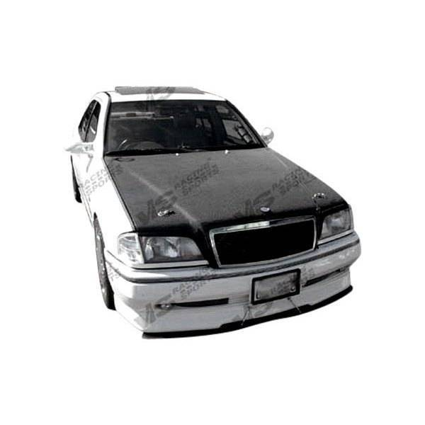 VIS Racing - Carbon Fiber Hood OEM Style for Mercedes E-Class 4DR 96-99