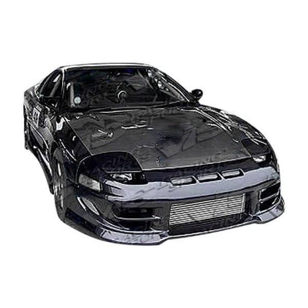 VIS Racing - Carbon Fiber Hood OEM  Style for Mitsubishi 3000GT 2DR 91-93