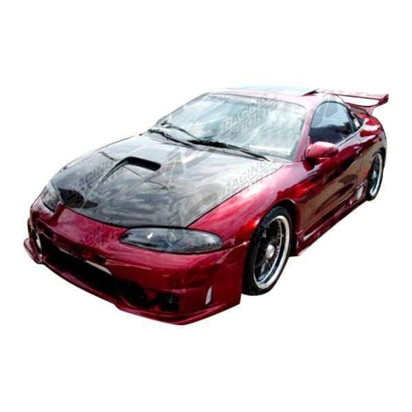 VIS Racing - Carbon Fiber Hood G Force Style for Mitsubishi Eclipse 2DR 95-99