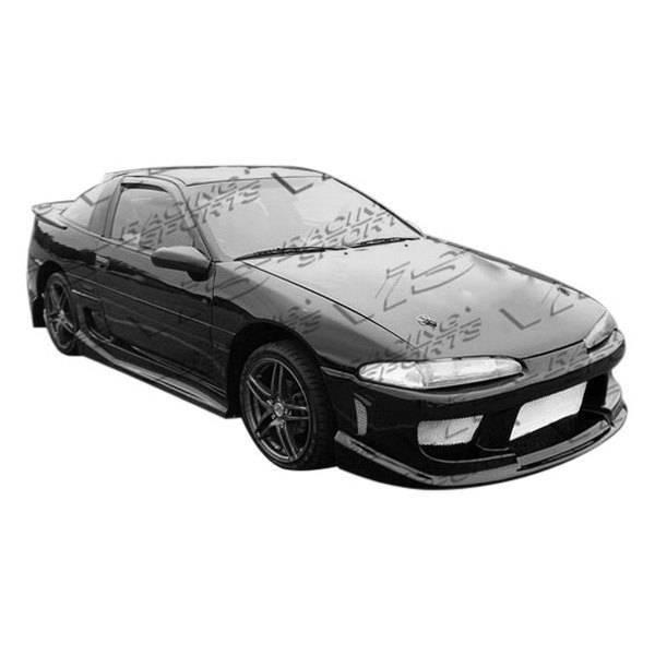 VIS Racing - Carbon Fiber Hood Invader Style for Mitsubishi Eclipse 2DR 92-94