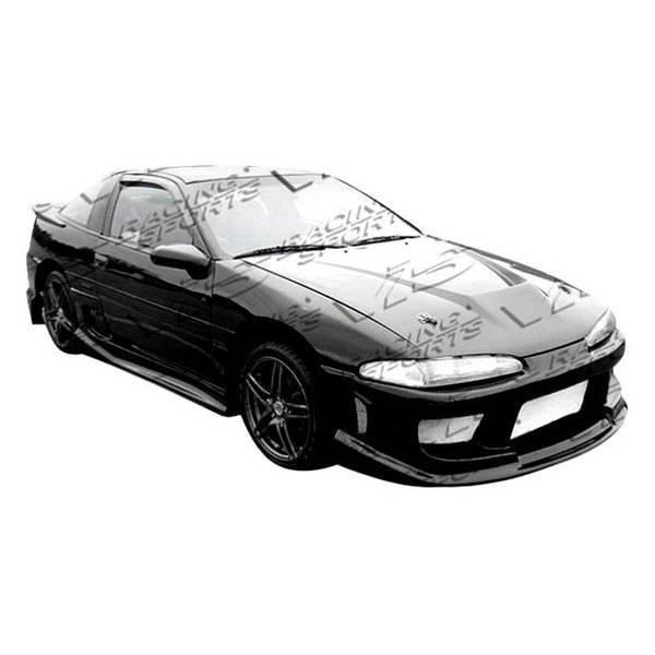 VIS Racing - Carbon Fiber Hood Invader Style for Mitsubishi Eclipse 2DR 90-91