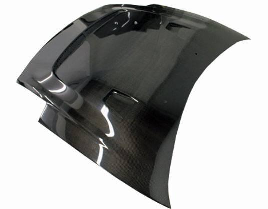 VIS Racing - Carbon Fiber Hood JS Style for Mitsubishi Eclipse 2DR 00-05