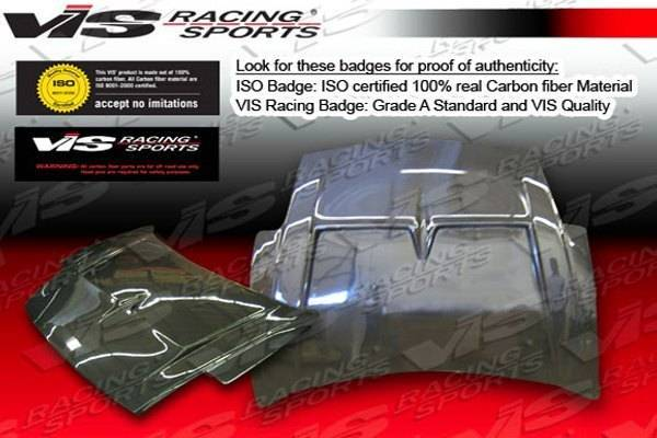 VIS Racing - Carbon Fiber Hood Monster Style for Mitsubishi Eclipse 2DR 00-05