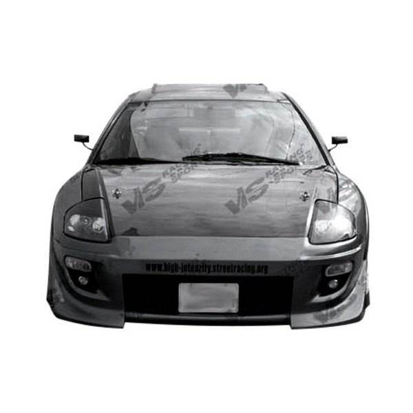 VIS Racing - Carbon Fiber Hood OEM Style for Mitsubishi Eclipse 2DR 00-05