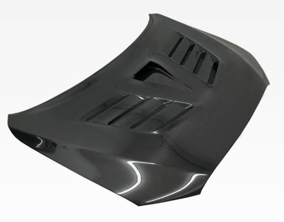 VIS Racing - Carbon Fiber Hood VRS Style for Mitsubishi EVO 10 4DR 2008-2017