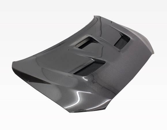 VIS Racing - Carbon Fiber Hood VS 2 Style for Mitsubishi EVO 10 4DR 2008-2017