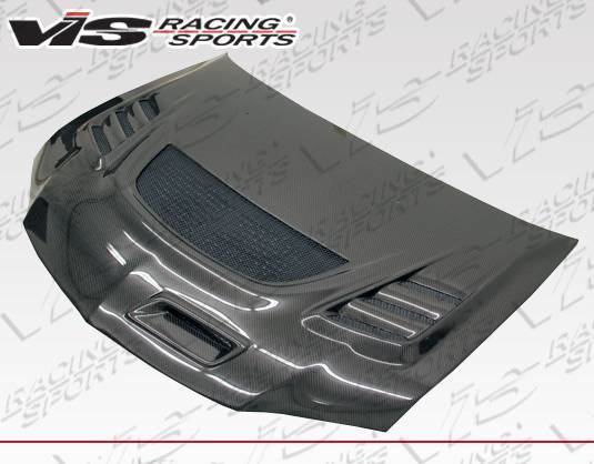 VIS Racing - Carbon Fiber Hood G Speed Style for Mitsubishi EVO 8 4DR 03-05
