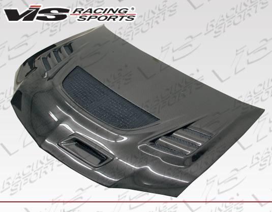 VIS Racing - Carbon Fiber Hood G Speed Style for Mitsubishi EVO 8 4DR 03-05