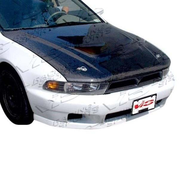 VIS Racing - Carbon Fiber Hood OEM Style for Mitsubishi Galant 4DR 99-03