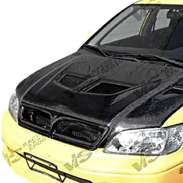 VIS Racing - Carbon Fiber Hood EVO Style for Mitsubishi Lancer 4DR 02-03