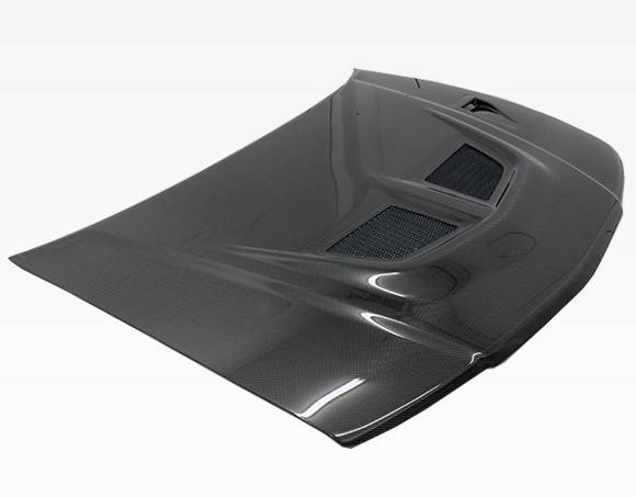 VIS Racing - Carbon Fiber Hood EVO Style for Mitsubishi Mirage (JDM) W/B 4DR 97-01