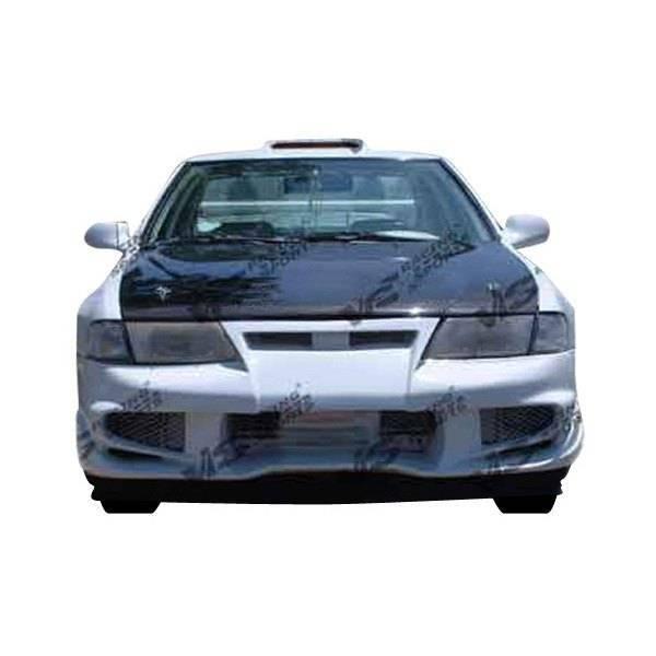 VIS Racing - Carbon Fiber Hood OEM Style for Nissan 200SX 2DR 95-99
