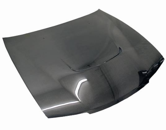 VIS Racing - Carbon Fiber Hood JS Style for Nissan 240SX 2DR 95-96