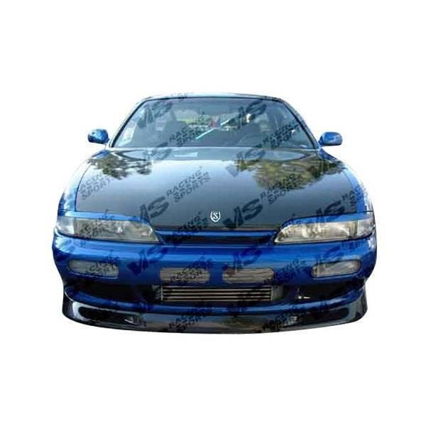 VIS Racing - Carbon Fiber Hood OEM Style for Nissan 240SX 2DR 95-96