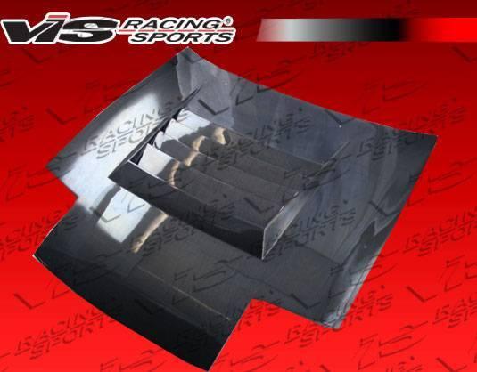 VIS Racing - Carbon Fiber Hood Drift Style for Nissan 240SX 2DR & Hatchback 89-94