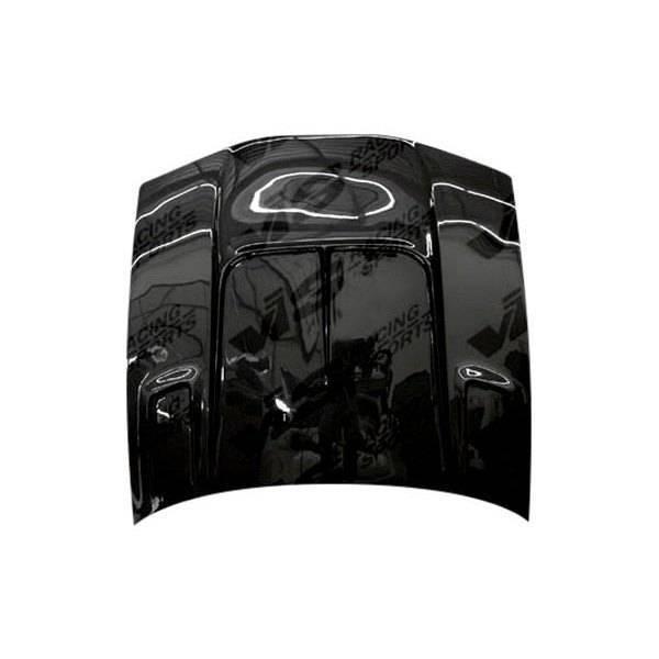 VIS Racing - Carbon Fiber Hood Drift 2 Style for Nissan 240SX 2DR & Hatchback 89-94