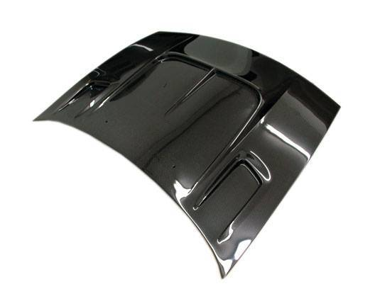 VIS Racing - Carbon Fiber Hood Drift 2 Style for Nissan 300ZX 2DR 90-96