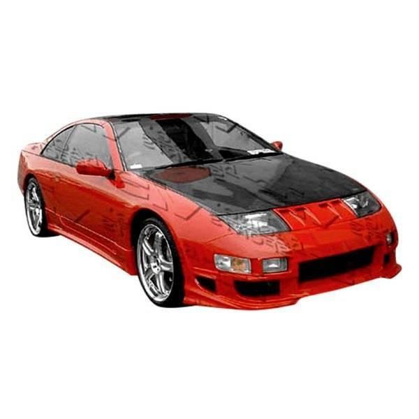 VIS Racing - Carbon Fiber Hood OEM Style for Nissan 300ZX 2DR & 2+2 90-96