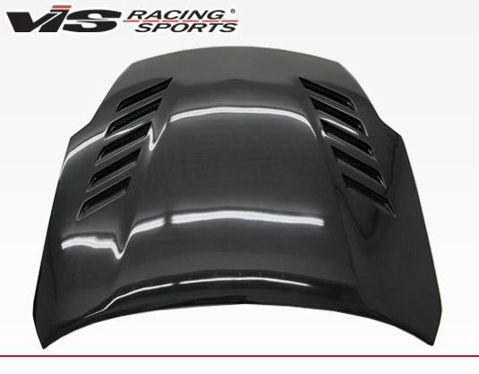 VIS Racing - Carbon Fiber Hood Astek Style for Nissan 350Z 2DR 03-08