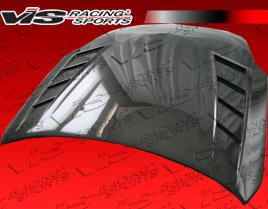 VIS Racing - Carbon Fiber Hood Terminator GT Style for Nissan 350Z 2DR 07-08