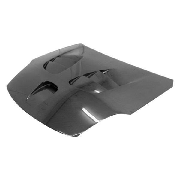 VIS Racing - Carbon Fiber Hood Fuzion Style for Nissan 350Z 2DR 03-06