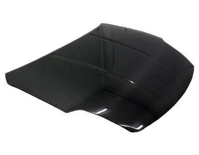 VIS Racing - Carbon Fiber Hood OEM Style for Nissan 350Z 2DR 03-06