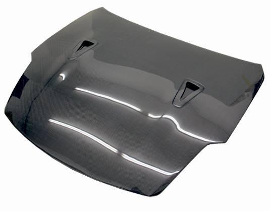 VIS Racing - Carbon Fiber Hood R35 Style for Nissan 350Z 2DR 03-06