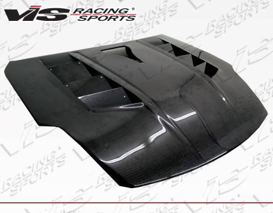 VIS Racing - Carbon Fiber Hood Sniper Style for Nissan 350Z 2DR 03-06