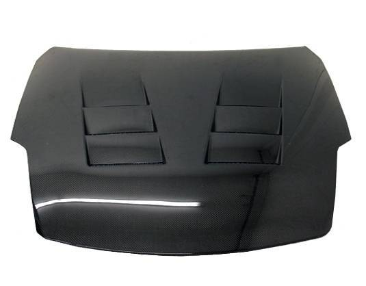 VIS Racing - Carbon Fiber Hood Terminator  Style for Nissan 350Z 2DR 03-06