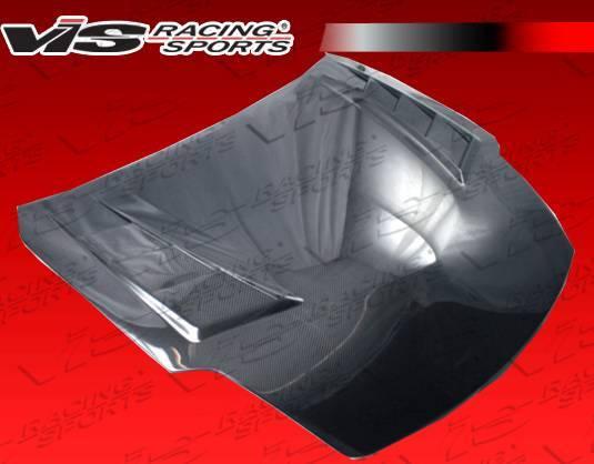 VIS Racing - Carbon Fiber Hood Terminator GT Style for Nissan 350Z 2DR 03-06