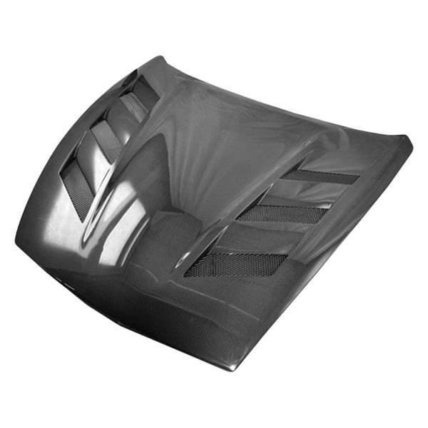 VIS Racing - Carbon Fiber Hood AMS Style for Nissan 370Z 2DR 2009-2020