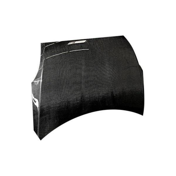 VIS Racing - Carbon Fiber Hood OEM Style for Nissan Altima 2DR 07-09