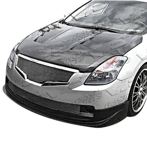 VIS Racing - Carbon Fiber Hood Terminator Style for Nissan Altima 2DR 07-09