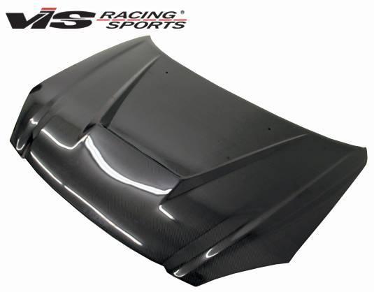 VIS Racing - Carbon Fiber Hood Invader Style for Nissan Altima 4DR 02-04